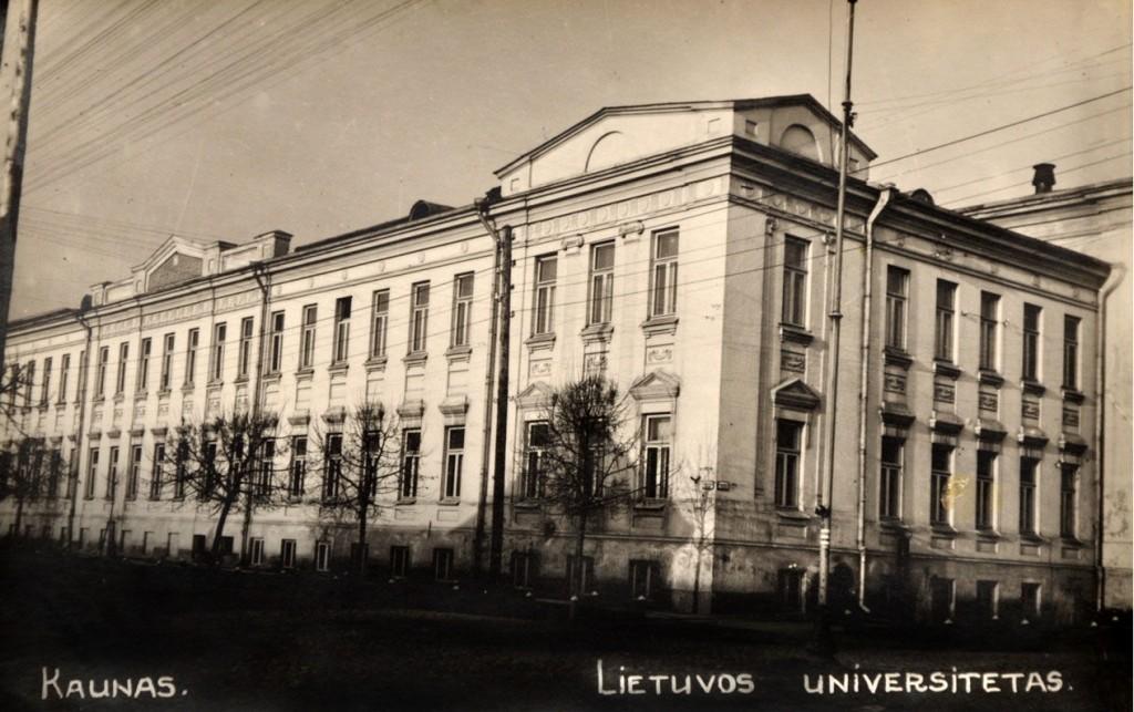 Lietuvos universitetas (KTU muziejaus archyvo nuotr.)