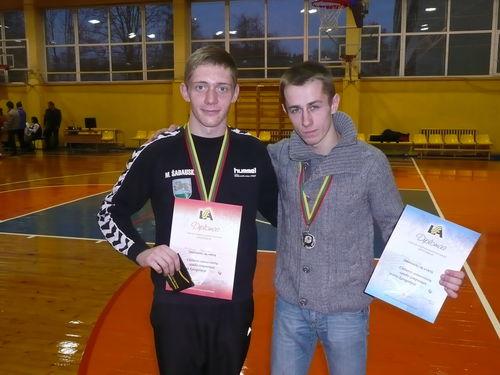 Mindaugas Šadauskas ir Audrius Šimbelis