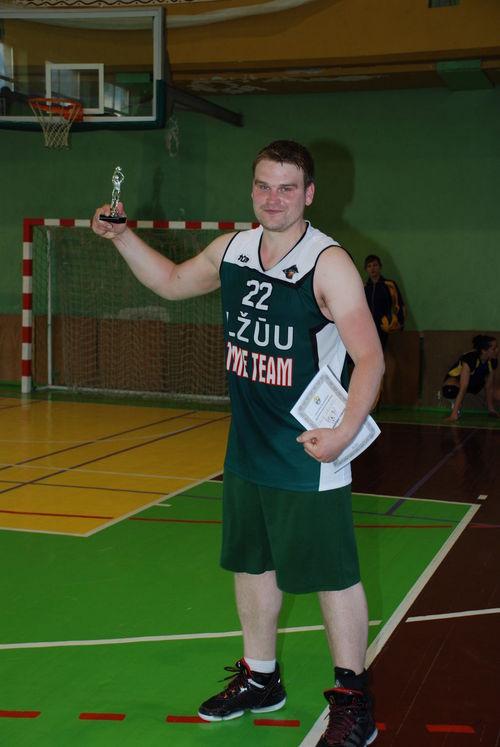 """Nudingiausias """"LŽŪU legendos"""" komandos žaidėjas - Povilas Stasiulionis"""
