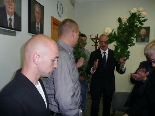 LŽŪU rektoriaus Antano Maziliausko sveikinimai SELL žaidynių nugalėtojams ir prizininkams