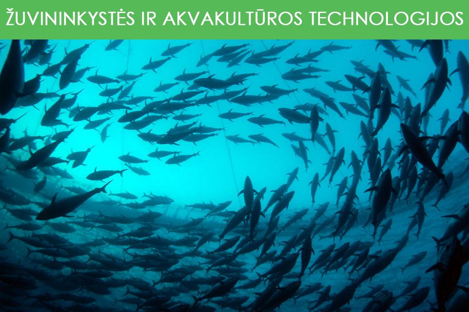 Žuvininkystės ir akvakultūros technologijos
