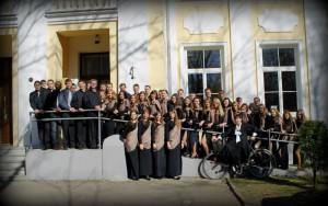 """""""Mus visus čia vienija meilė muzikai ir dideli sparnai, kurie mus pakelia nuo gyvenimo rūpesčių"""". Ieva Steiblytė"""