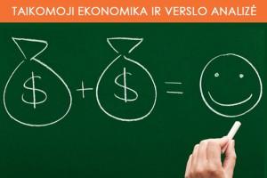 Taikomoji ekonomika ir verslo analizė