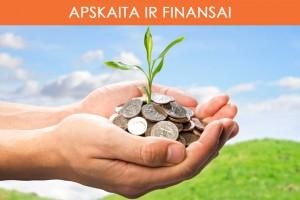 apskaita ir finansai