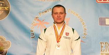 Europos čempionato bronza – MEF studentui Klaudijui Malevskiui