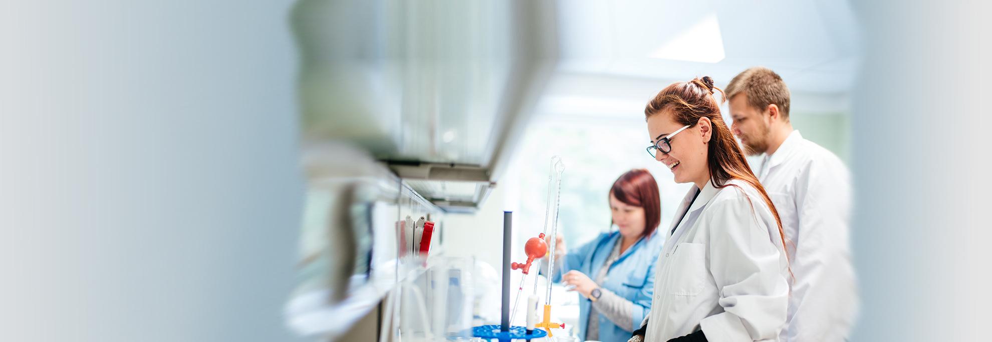 Modernios laboratorijos