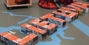"""ASU muziejus su Kultūros ir turizmo vadybos studentais prisijungė prie iniciatyvos """"Parašyk Lietuvos vardą kitaip"""""""