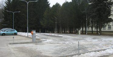 Atidaroma nauja parkavimo aikštelė