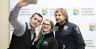 Universitetą užplūdo moksleiviai iš visos Lietuvos