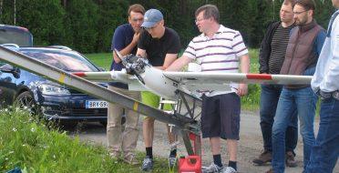 UAV hyperspectral imaging