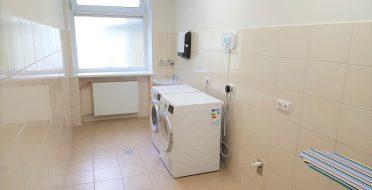 Įrengtos savitarnos skalbyklos