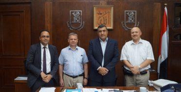ERASMUS visit at Cairo University, Egypt
