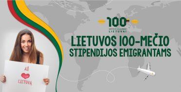 Lietuvos 100-mečio stipendijos emigrantams