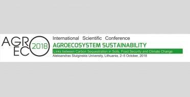 """Tarptautinė mokslinė konferencija """"Agroekosistemų tvarumas"""""""